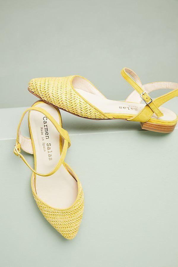 "Get them <a href=""https://www.anthropologie.com/shop/carmen-salas-avila-flats?category=shoes-flats&color=046"" target=""_bl"