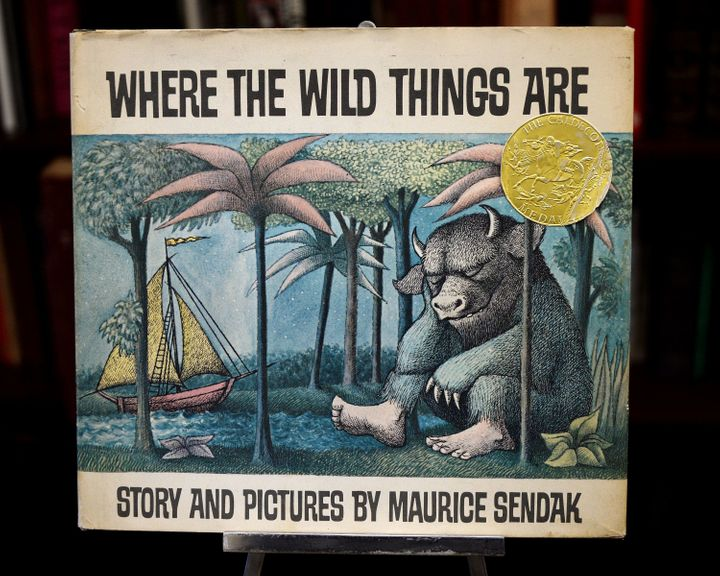 The photo above shows a first edition of&nbsp;<i>Where the Wild Things Are </i>set to be auctioned off<i>.&nbsp;</i>Sendak revealed in an interview that he originally planned to title the book&nbsp;<i>Where the Wild Horses Are.</i><i>&nbsp;</i>