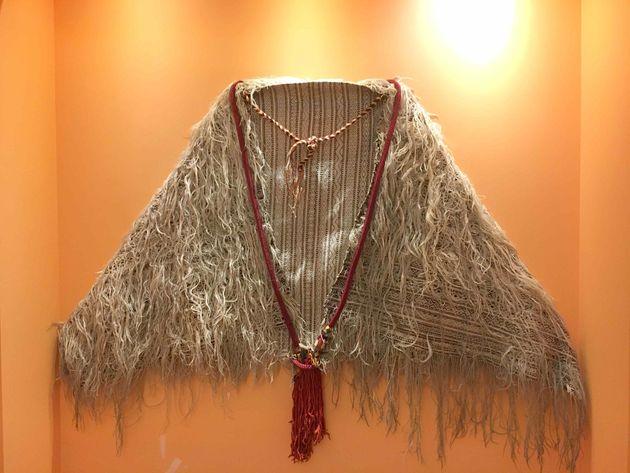 Handira, cape portée par la femme, Moyen-Atlas, début du 19e