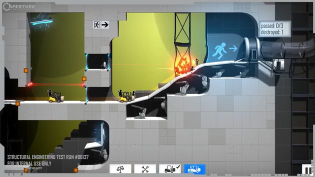Bridge Constructor Portal Is Basically Impossible Which Is Why You Should Play