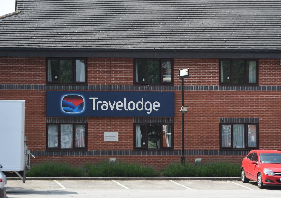 The Travelodge Vicky Pearce is staying
