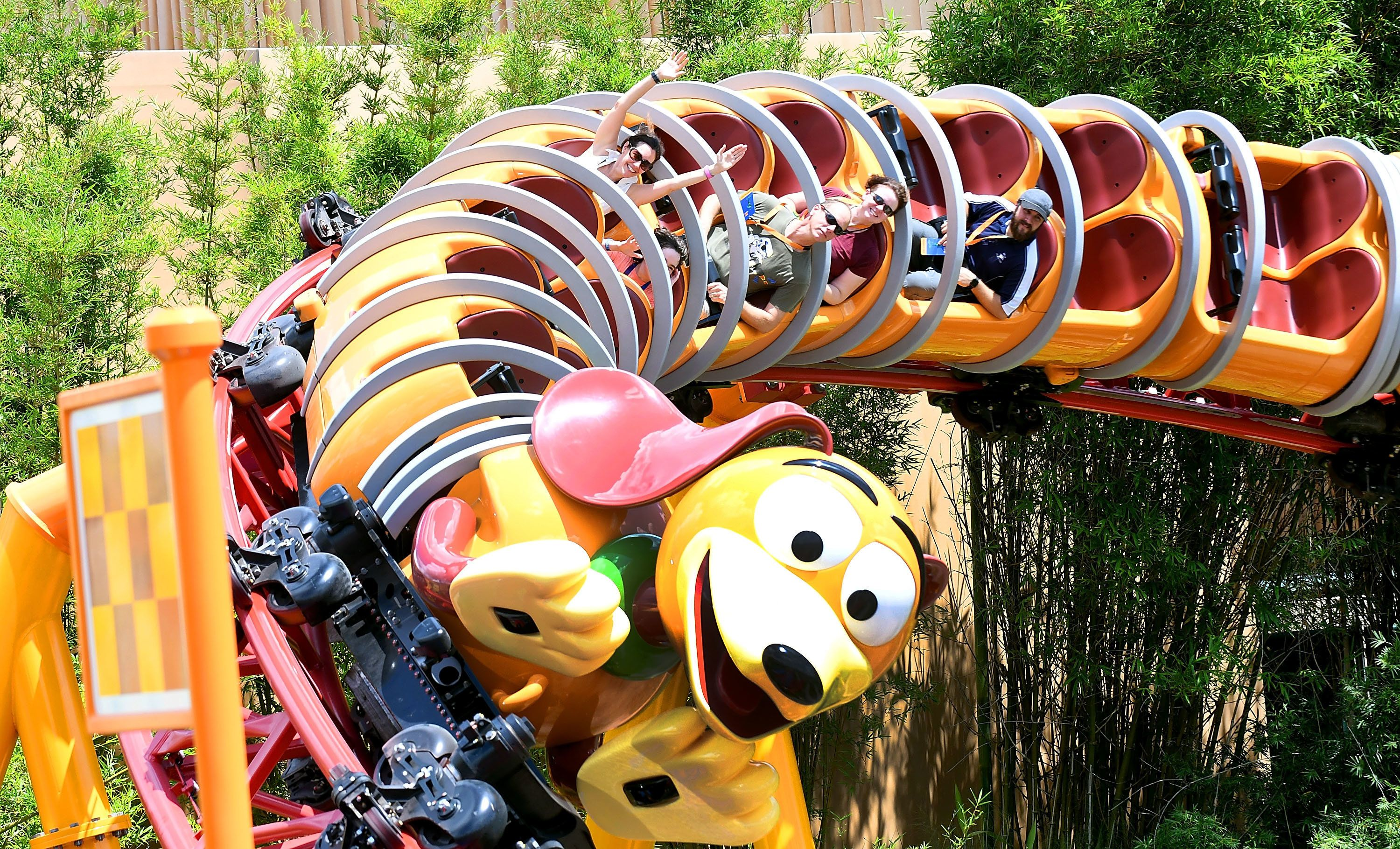 Although itfeatures small drops, the coaster isconsidered fun for kids and adults.