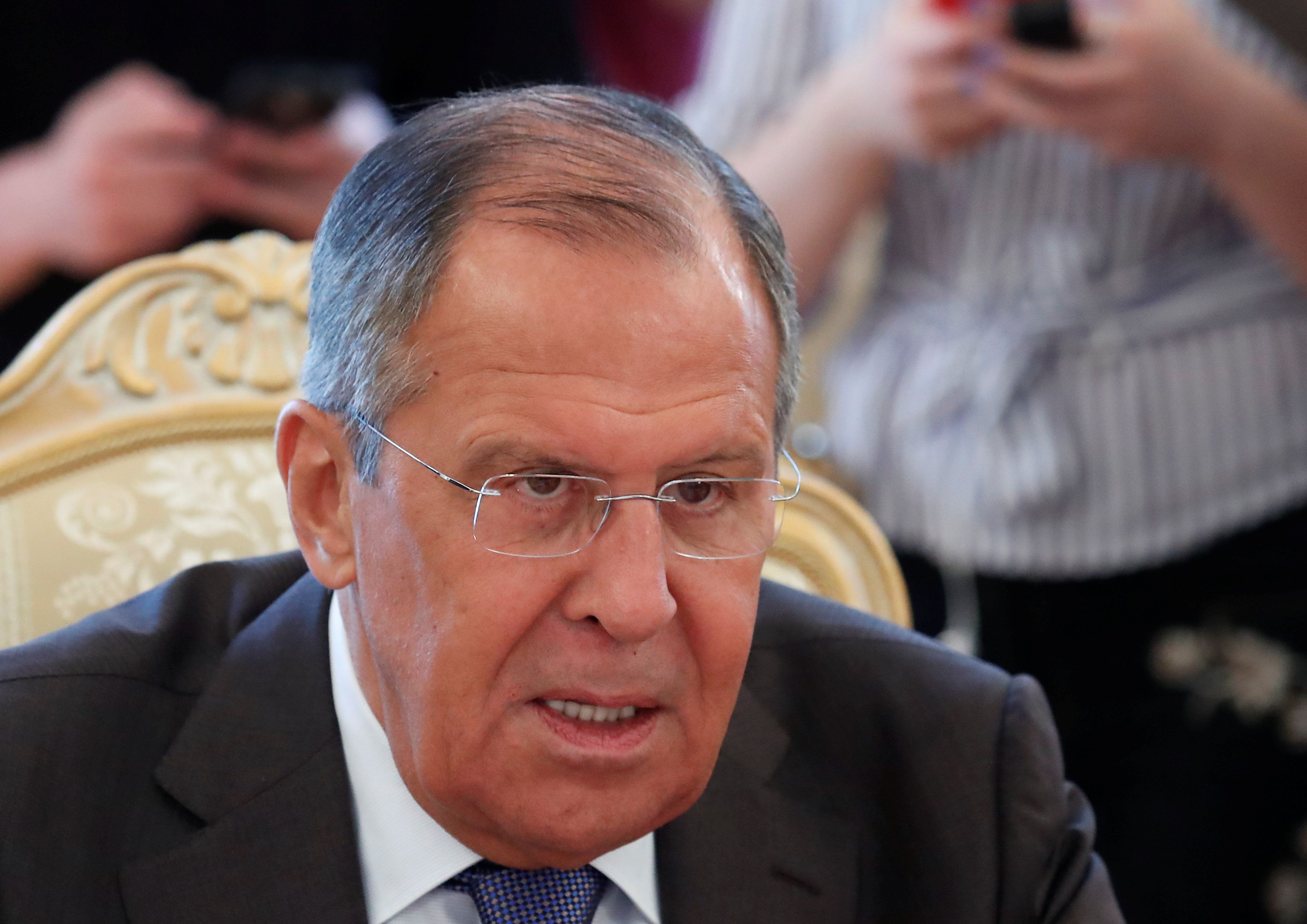 Russian Foreign Minister Accuses Britain Of Destroying Salisbury Attack