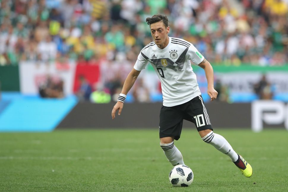 Mesut Özil is among the best midfielders alive, but often finds himself under criticism from Germany's right wing for no