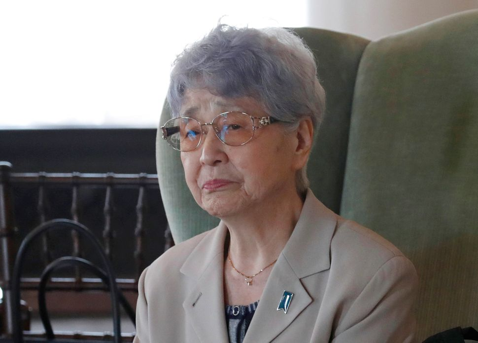 Sakie Yokota has become the most prominent advocate for the return of the abductees, writing a memoir about her daughter