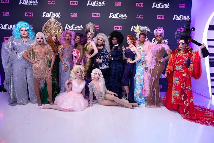 "Participants of Season 10 at ""RuPaul's Drag Race"""