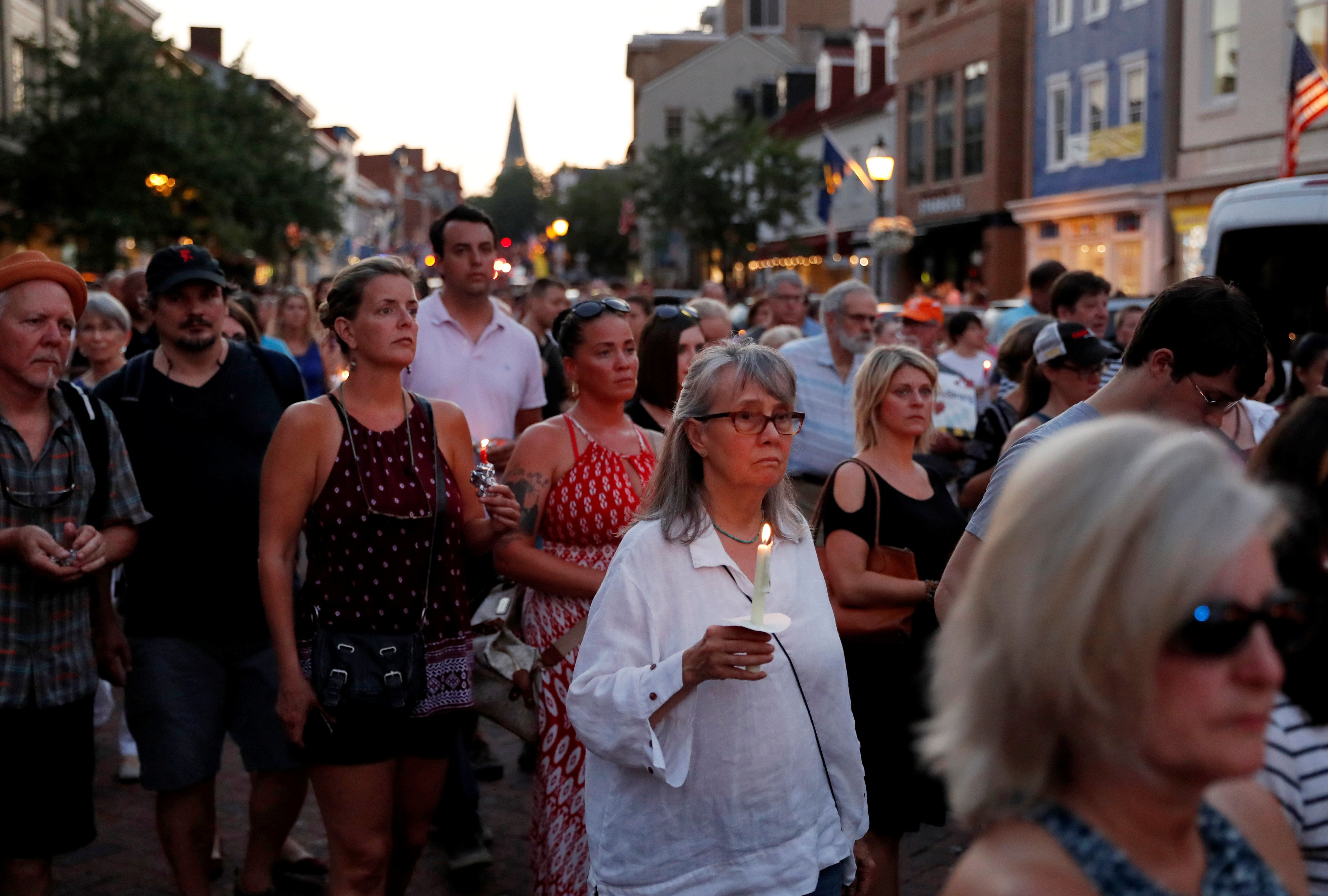 Annapolis vigil