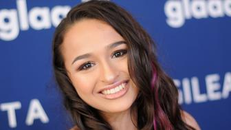 Jazz Jennings attends the 29th Annual GLAAD Media Awards at The Beverly Hilton Hotel in April