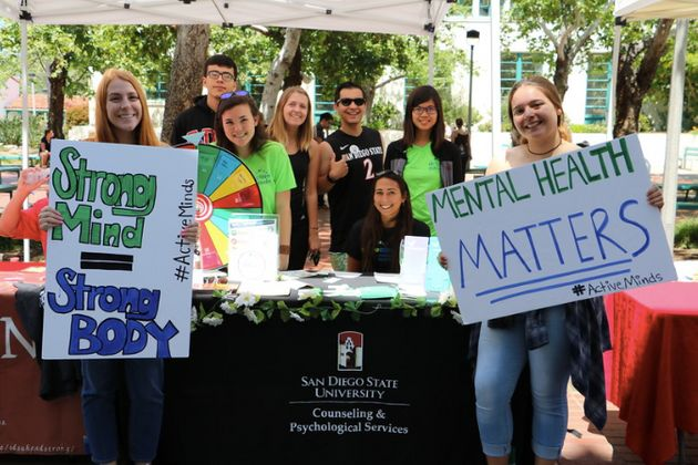 Active Minds event at San Diego State