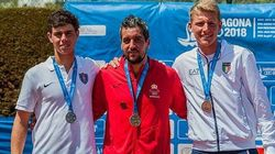 Lamine Ouahab décroche l'or aux Jeux méditerranéens de