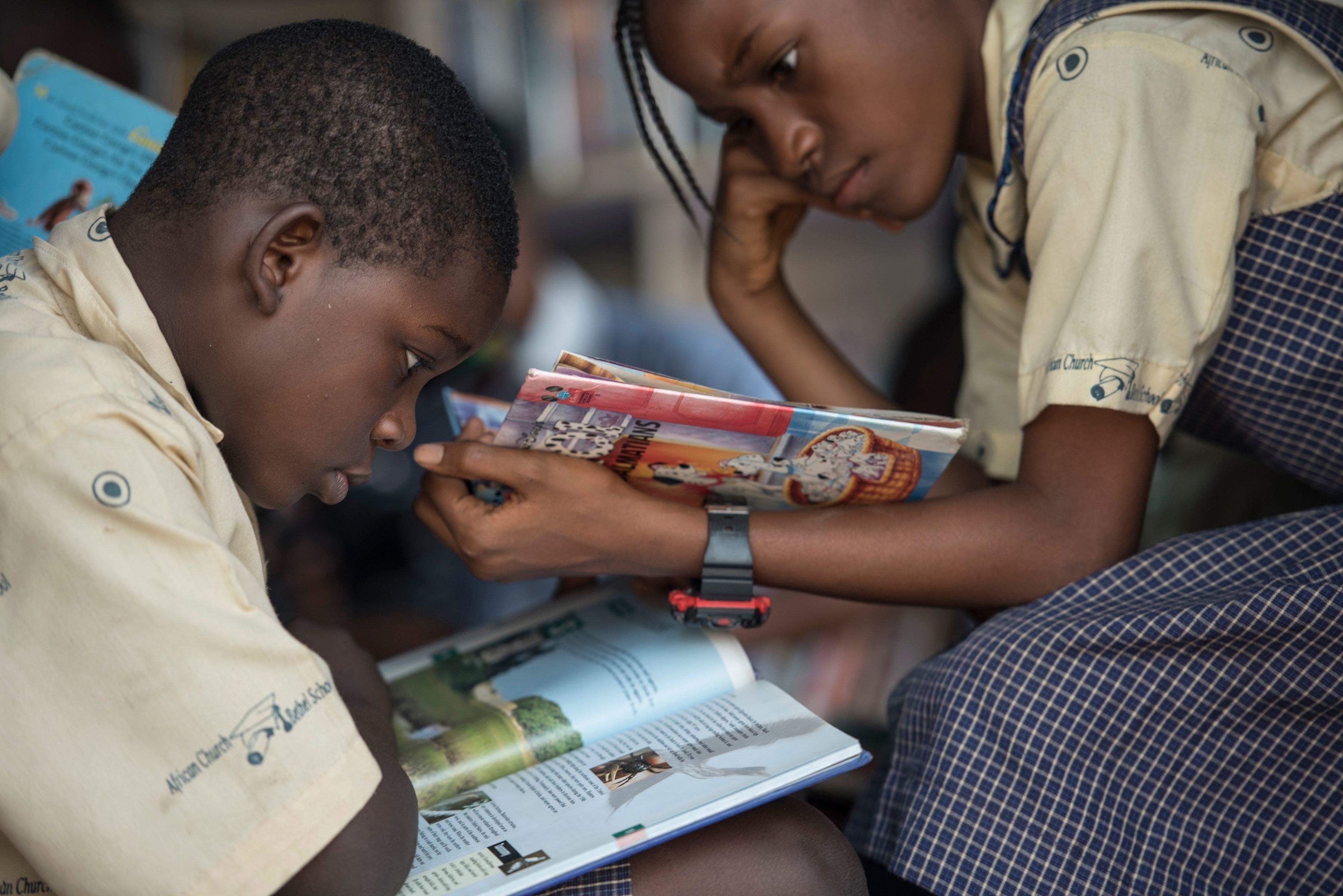 BLOG- Le développement de l'Afrique passe par l'apprentissage de la lecture aux enfants