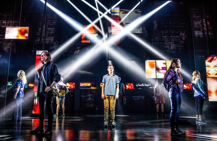 "The current Broadway cast of ""Dear Evan Hansen."""
