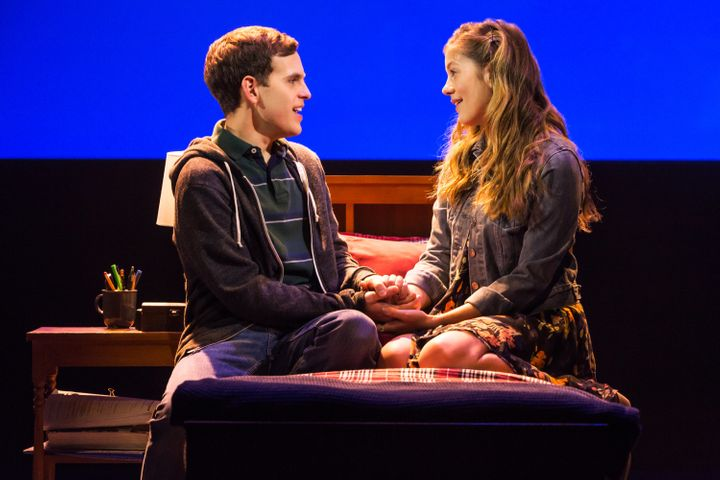 "Taylor Trensch and Laura Dreyfuss in ""Dear Evan Hansen."""