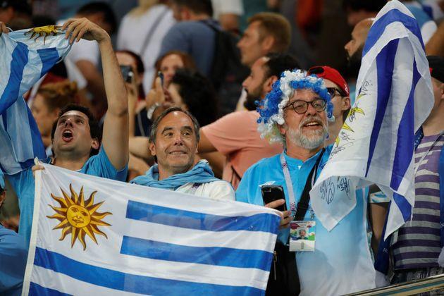 '카바니 멀티골' 우루과이, 포르투갈 2-1 제압...8강 프랑스와