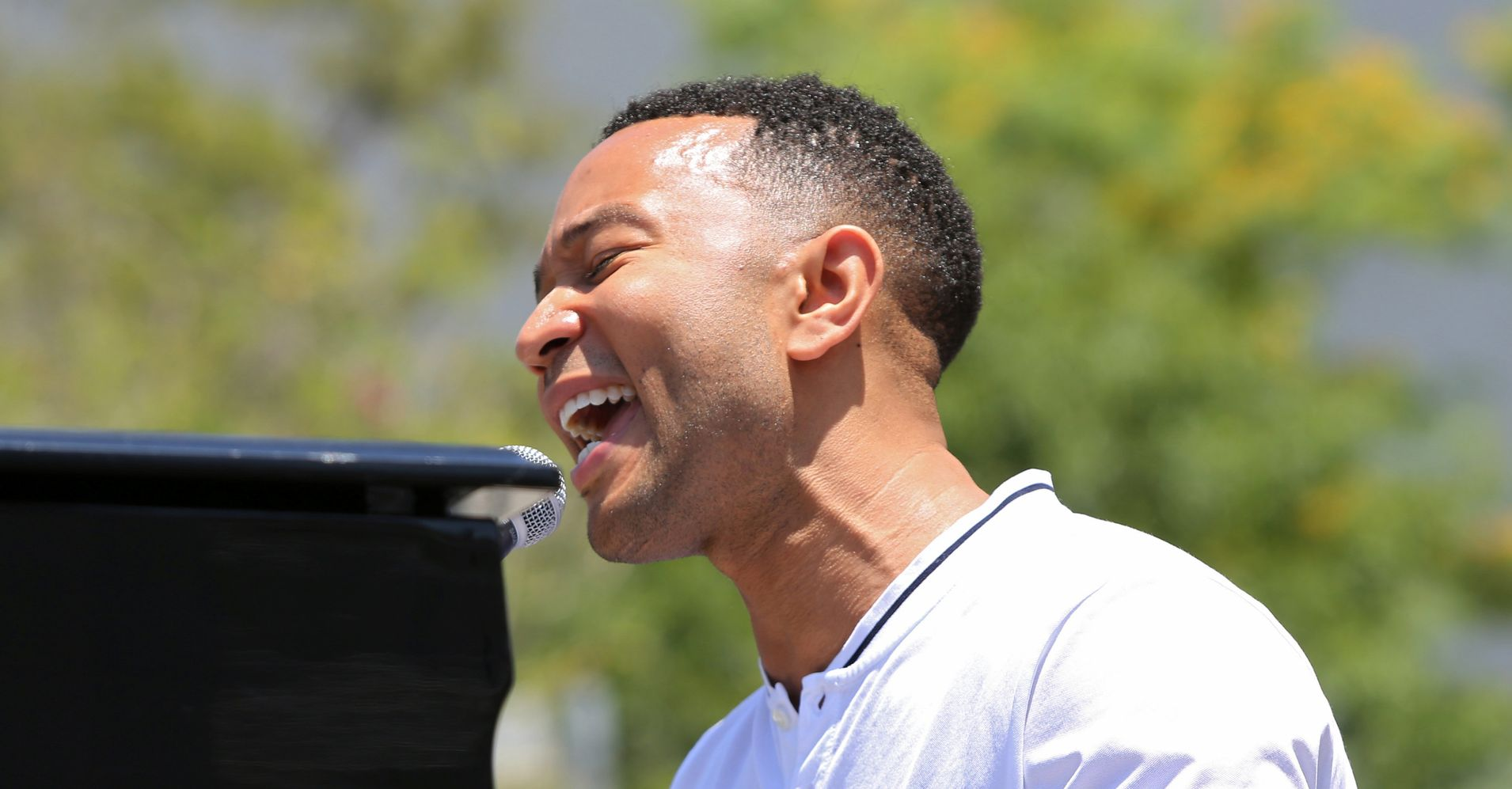 John Legend Debuts Heartfelt Song 'Preach' At Immigration Rally