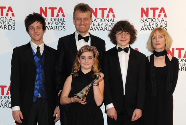 The whole 'Outnumbered' clan at the 2012