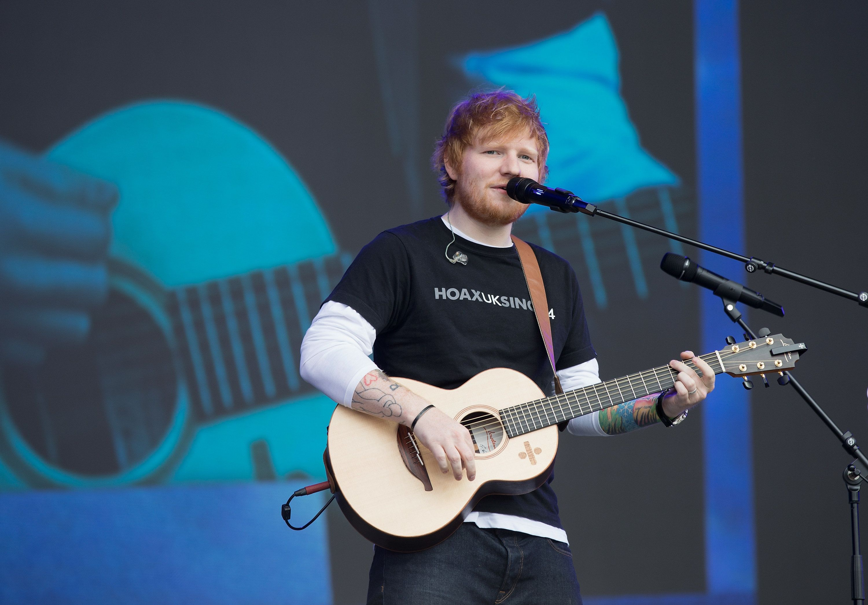 Ed Sheeran 'Takes Legal Action' After 'Shape Of You' Royalties