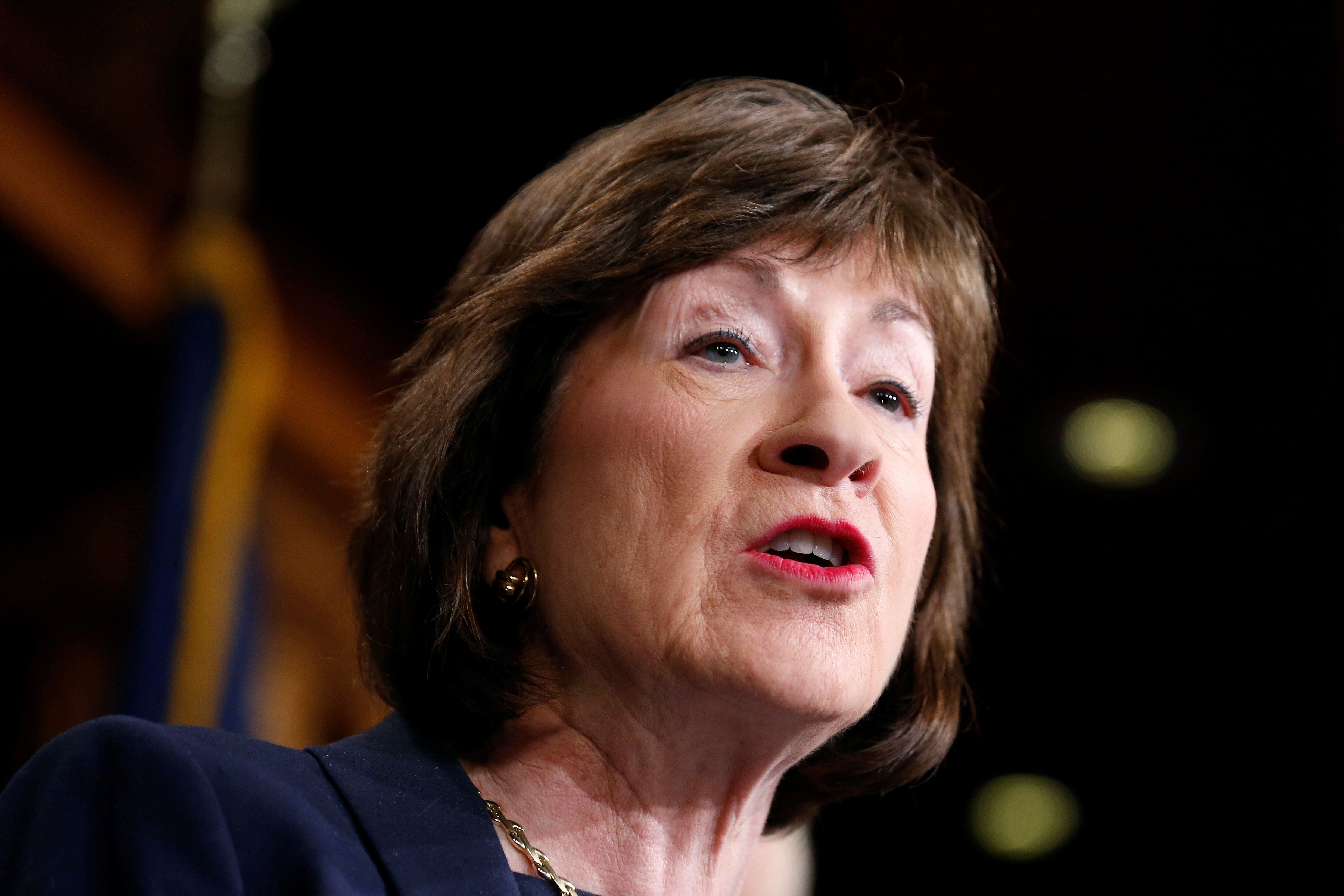 Sen. Collins: No Roe v Wade opponent for high court