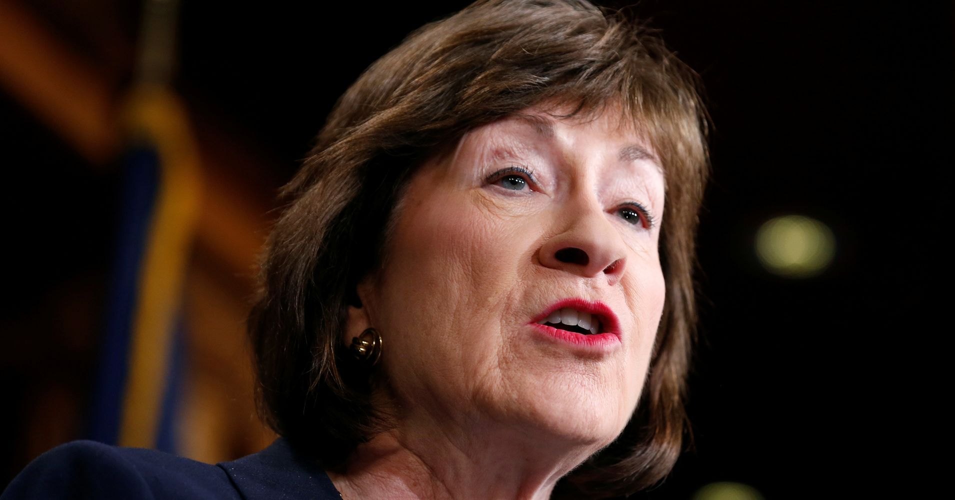 GOP Sen. Susan Collins Says Anti-Roe Supreme Court Nominee Is 'Not Acceptable'