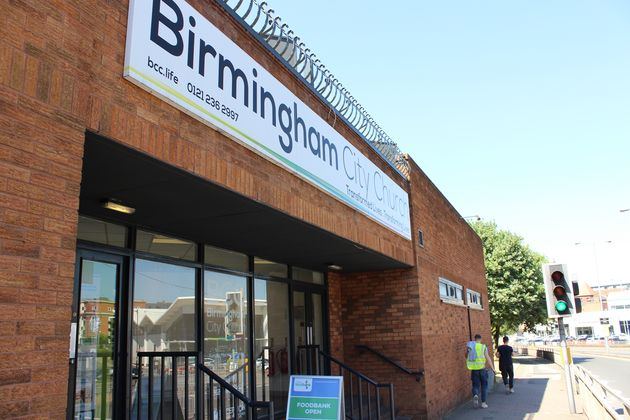 Birmingham Central Foodbank's new facility at the City
