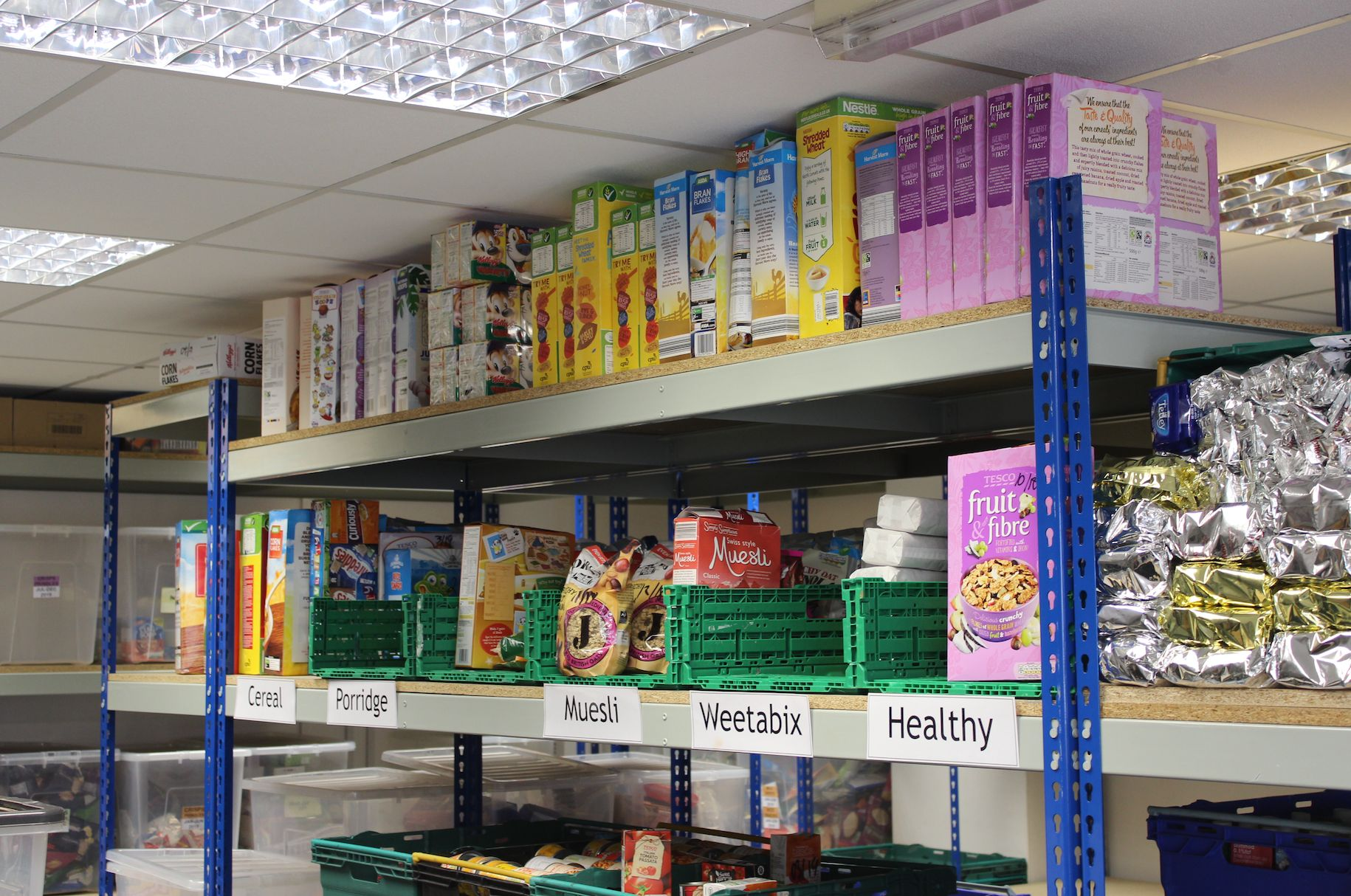 Inside The Foodbank On The Frontline Of Universal Credit's Rollout