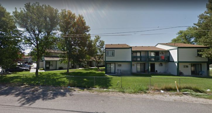 Authorities responding to this apartment complex in Boise, Idaho, found nine stabbing victims Saturday night.