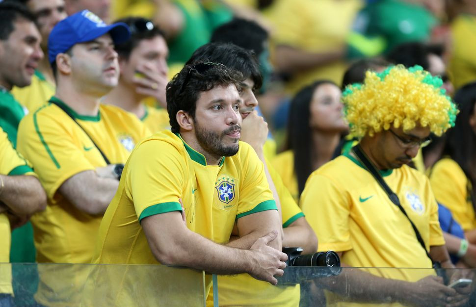 "The despair Brazilians felt immediately after the 7-1 loss quickly became a joke: ""Every day, a new 7-1."""