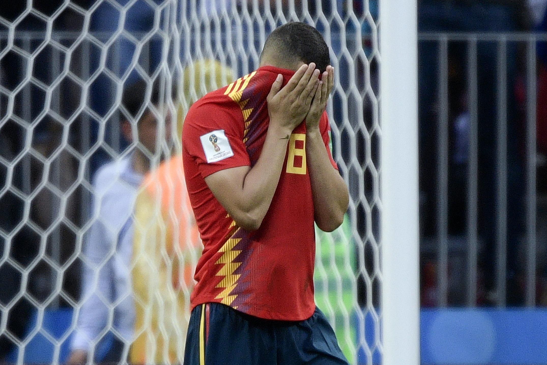 WM-Fluch der Spanier erfüllt sich bei Russlands Sensations-Sieg im