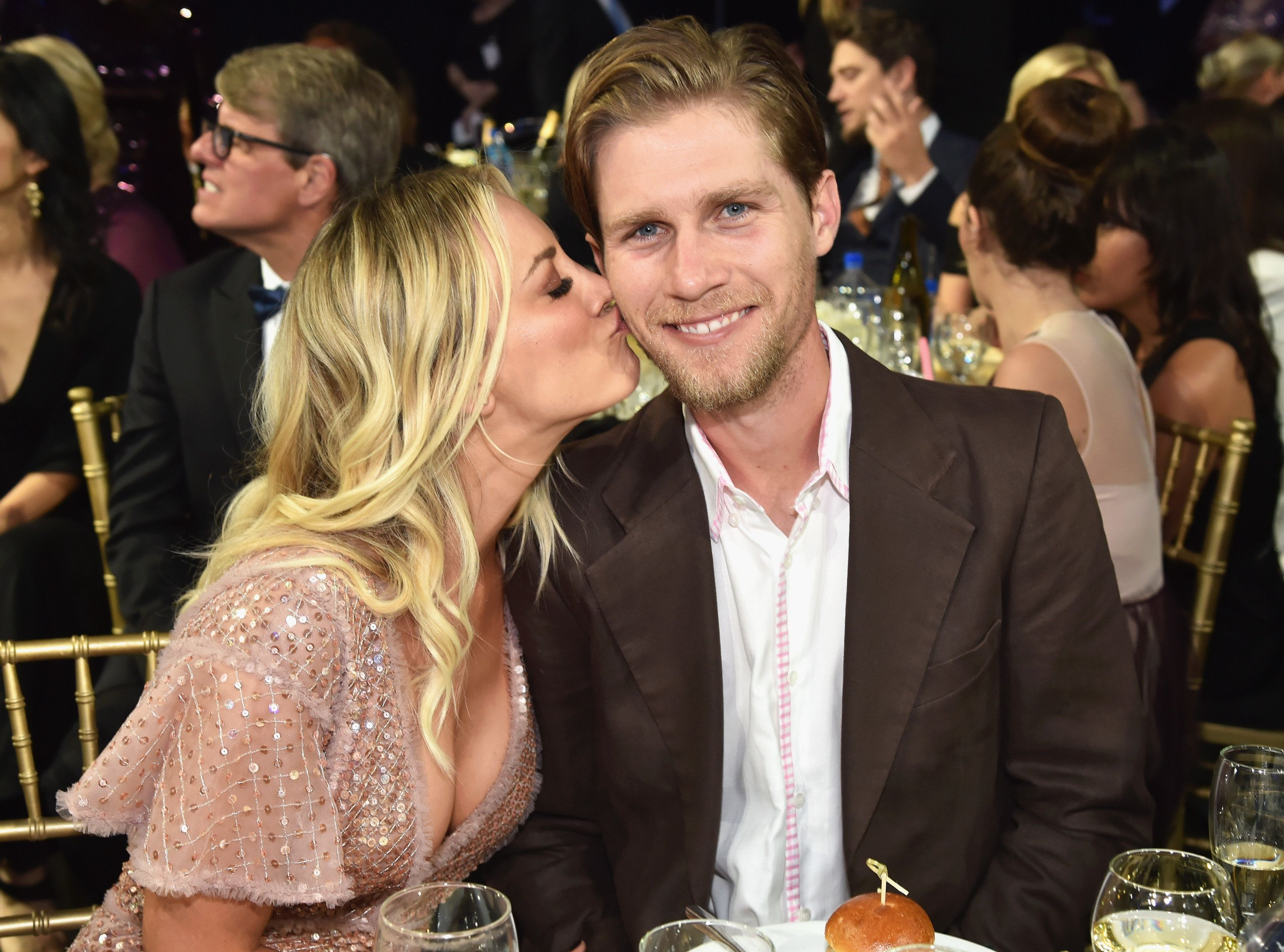 Cuoco and Cook got engaged late last year.