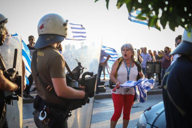 Συγκέντρωση και πορείες για τη Μακεδονία σε Θεσσαλονίκη και