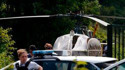 악명높은 프랑스 살인범이 이번에는 헬리콥터를 이용해