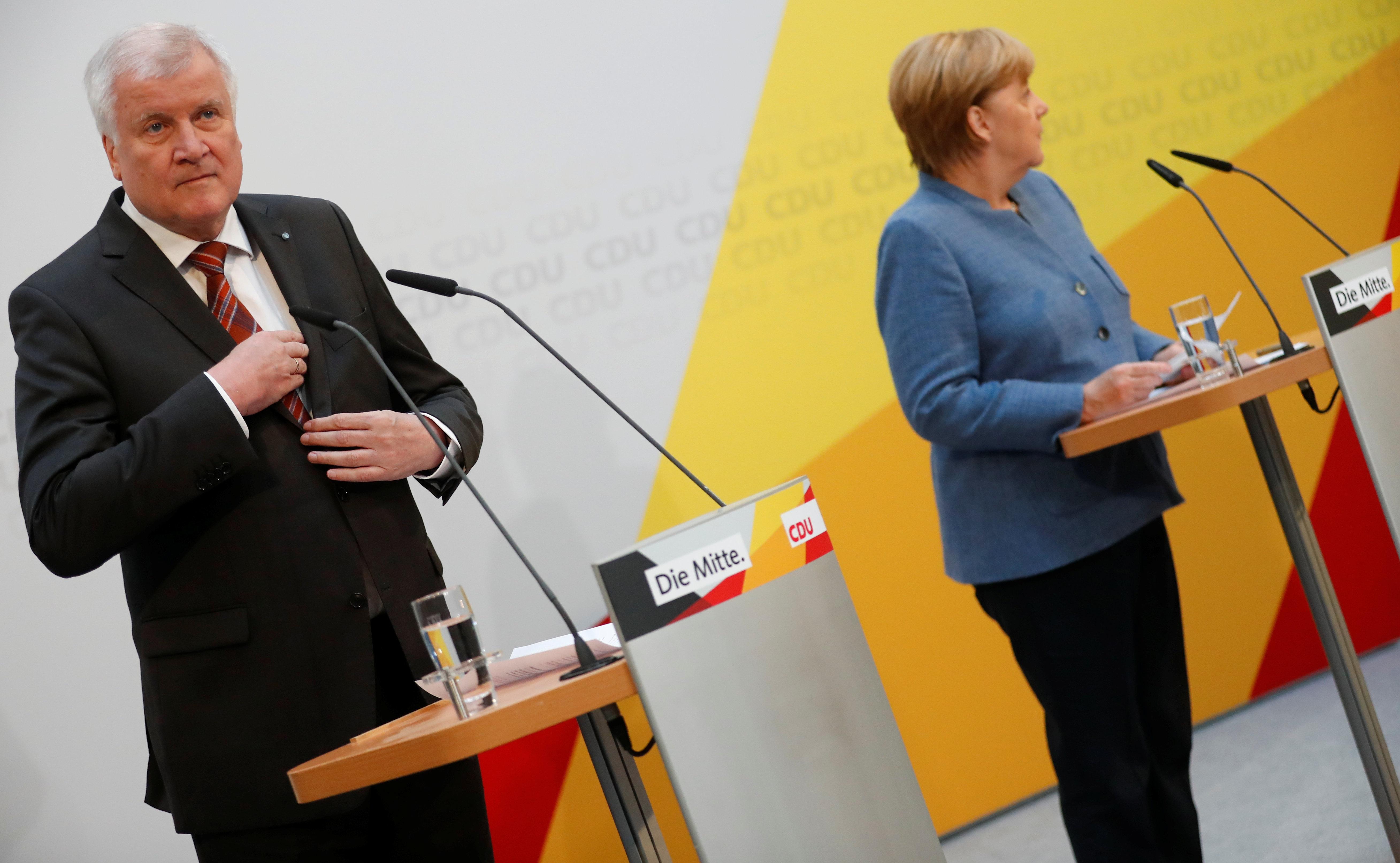 Merkel und Seehofer haben sich geeinigt