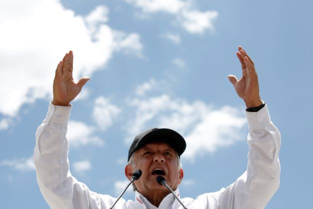 멕시코 대선에서 좌파 안드레스 마누엘 로페스 오브라도르가 압승을