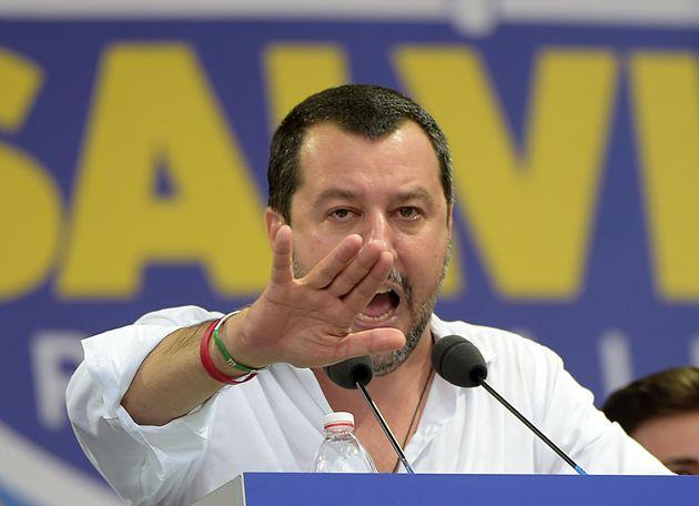 마테오 살비니 이탈리아 내무장관이 유럽 내 '反난민연합' 결성을