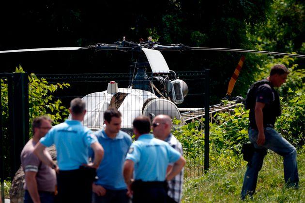 프랑스 무장강도가 두번째 탈옥에 사용한 방법은 매우