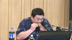 김준현이 '맛있는 녀석들' 촬영 중 겪는 나름의 고충을