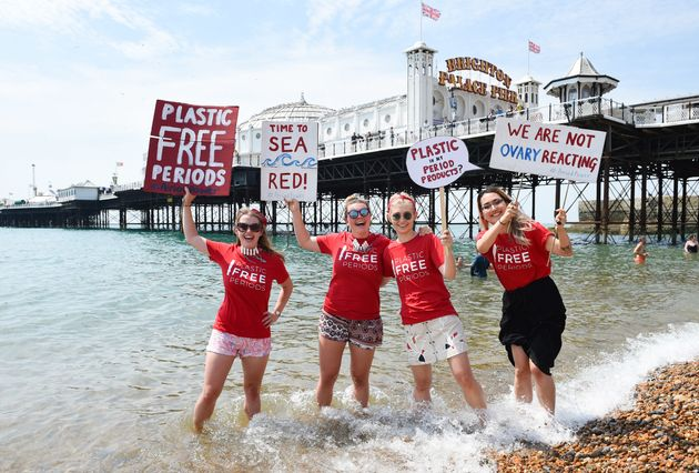 Plastic-Free Periods: Here's Why Protestors Led A 'Sea-Red' March in