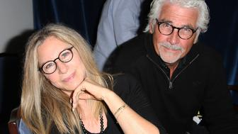 EAST HAMPTON, NY - JULY 06:  Barbra Streisand and James Brolin attend the 'And So It Goes' premiere at Guild Hall on July 6, 2014 in East Hampton, New York.  (Photo by Sonia Moskowitz/Getty Images)