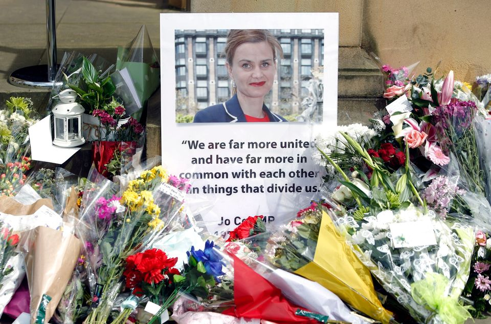 Tributes to Labour MP Jo Cox after she was
