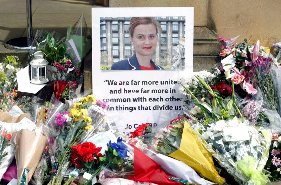 Tributes to Labour MP Jo Cox after she was murdered