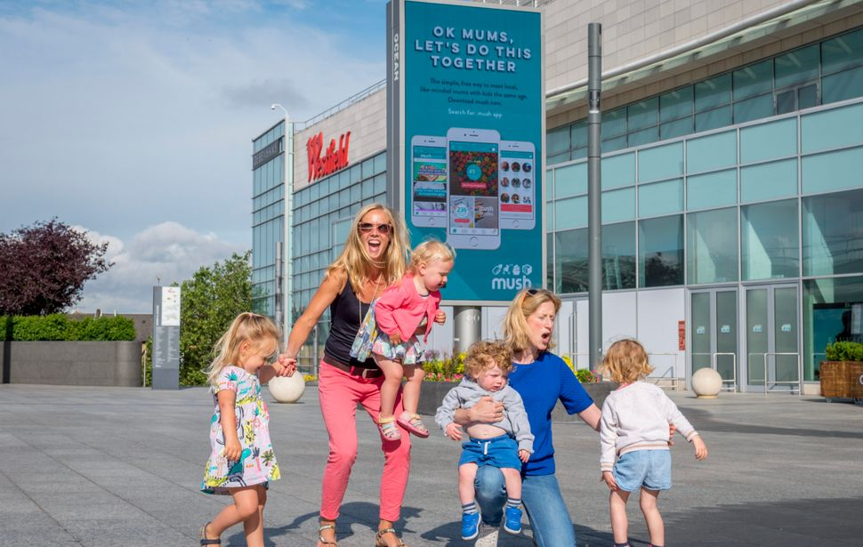 The 'Mush' app for young parents