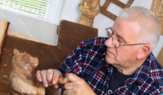 Woodworking at a MensShed