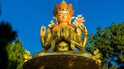 Το άγαλμα του Βούδα Μαϊτρέγια στη Μογγολία σηματοδοτεί τις στενές σχέσεις μεταξύ