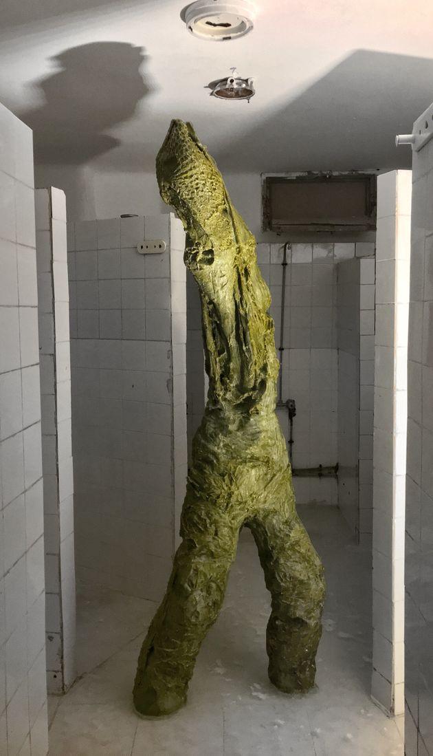 Alex Hayet, Kercha, sculpture en savon à l'huile