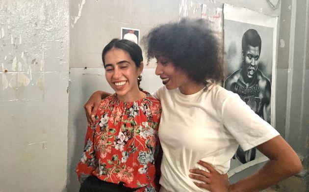 Myriam Ben Salah et Ligia