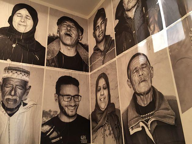 Les artistes Rero, Sam Baron et JR invitent au rêve dans la médina