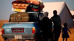 Dans le sud syrien, des déplacés échoués près d'une frontière