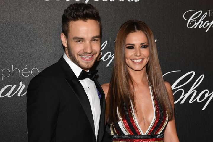 Liam Payne and Cheryl Cole attend the Chopard Tropy Ceremony on May 12, 2016 in Cannes.