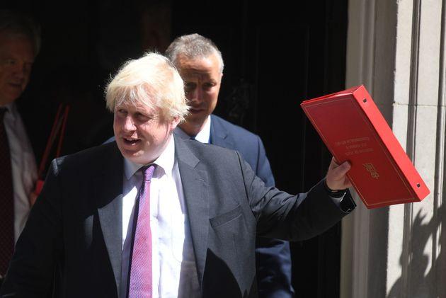 Foreign Secretary Boris Johnson:
