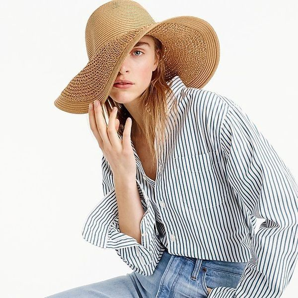 """<strong><a href=""""https://www.jcrew.com/us/p/womens_category/accessories/hats/textured-summer-straw-hat/09500"""" target=""""_blank"""""""